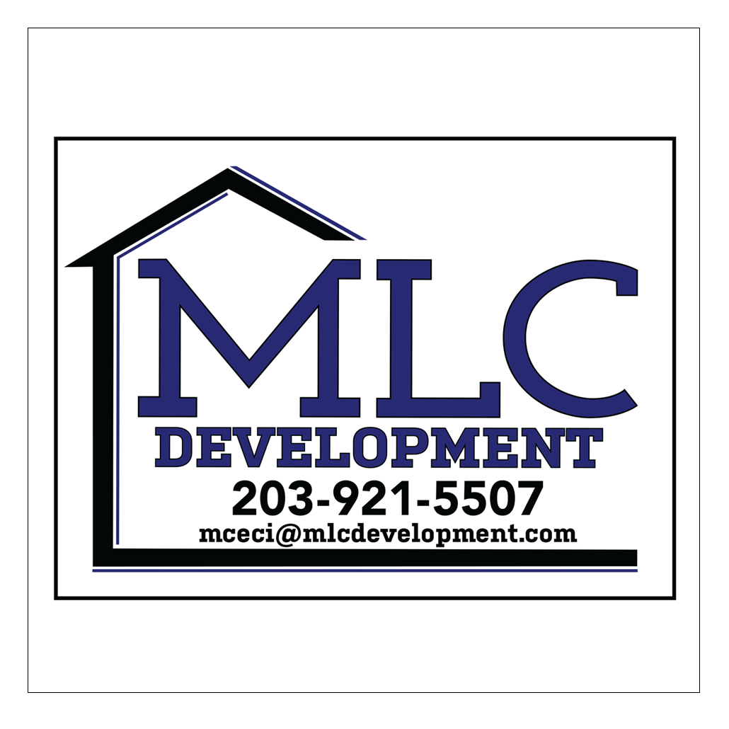MLC Development Sign graphics by JPG of Stamford